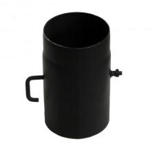 Roura s komínovou klapkou ø 150mm - 0,25m tl.2mm